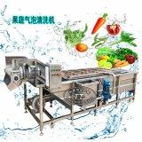 气泡清洗机 蔬菜气泡翻浪清洗机 气泡果蔬清洗机