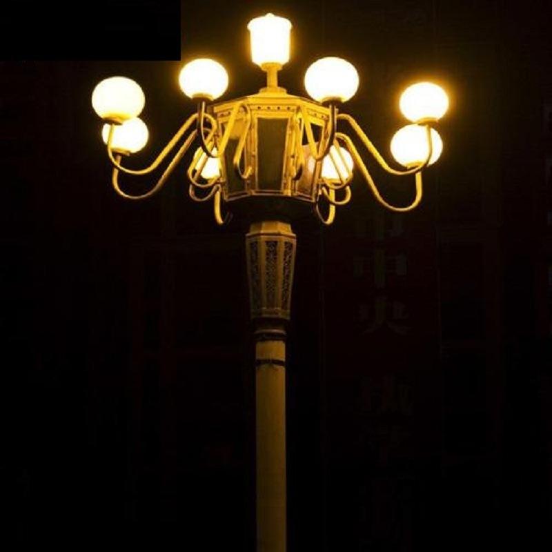 八叉九火雅江玉兰灯 四川玉兰灯  LED玉兰灯