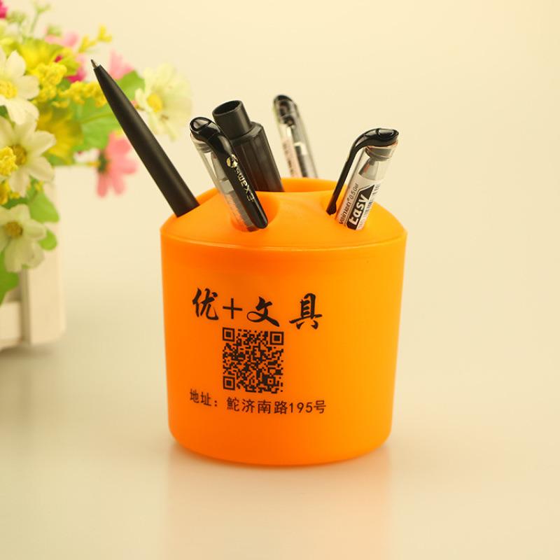 多功能塑料笔筒牙刷架一元小礼品