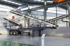 安徽移动式建筑垃圾处理设备破碎机设备生产线