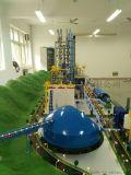 新型干法水泥生产线模型实训装置
