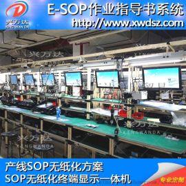 兴万达ESOP电子看板系统,产线优化管理系统,作业指导监督系统