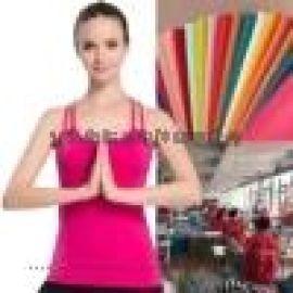 加工定制健身瑜伽跑步锻炼运动背心 带胸垫女上衣