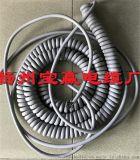 供应16芯0.5平方螺旋电缆摊铺机螺旋线