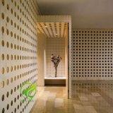 外墙幕墙异形冲穿孔氟碳漆人像山水画造型铝单板