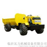 新型盤式拖拉機萬向折腰式四驅運輸拖拉機