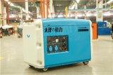 大澤動力電啓動靜音8kw柴油發電機