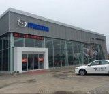 一汽马自达4S店外墙装饰铝板安装方式