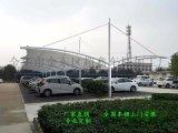 欽州汽車停車棚制作、防城港市膜結構遮陽棚定制