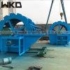 江西宜春大型洗沙機輪鬥式洗沙篩沙一體機生產線