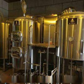 小型啤酒屋酿酒设备,自酿啤酒设备