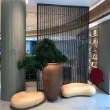 定製客廳酒店屏風不鏽鋼異形戶外花格屏風定製