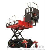 諾力瓦3BD-350田園電動履帶升降搬運管理工作平臺