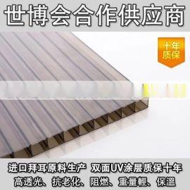 李沧区、崂山区三层阳光板厂家 中空板生产企业