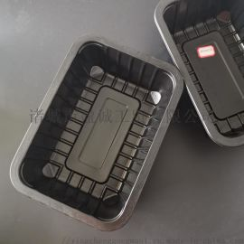 周黑鸭2014锁鲜盒一次性长方形PP塑料盒