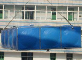 国标水箱 玻璃钢夹套水池 不锈钢组合水箱耐水