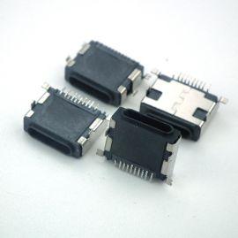 厂家直销产地货源现货供应苹果母座IPHONE母头连接器SMT贴板10PIN