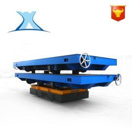 运输半导体航天新材料运输耐高温防爆智能搬运车电动无轨平板车