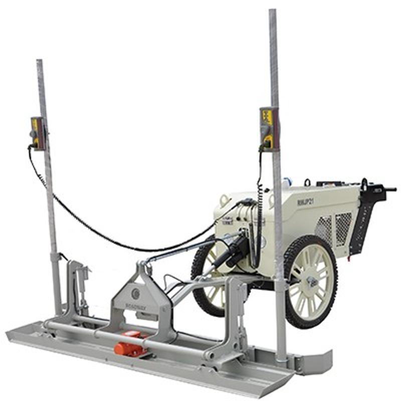 山东路得威 激光摊铺机 技术实力 -混凝土超平整平行业发展不可逆转必需机械