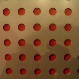厂房防滑冲孔网板 不锈钢冲孔网板 起鼓防滑板