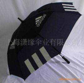 双层伞骨高尔夫伞、双层纤维伞架高尔夫伞广告礼品伞