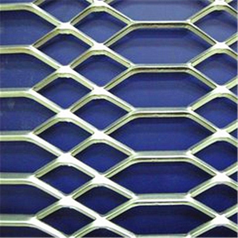 菱形钢板网 拉伸钢板网 喷塑钢板网 钢板网厂家