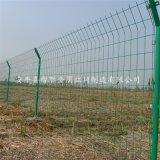 花園圍牆護欄 綠色雙邊絲護欄 抗曬實用雙邊絲護欄