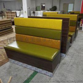 餐厅沙发卡位KTV沙发定做厂家,酒吧会所沙发供应