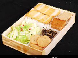温州鳌江一次性餐具 木制便当盒