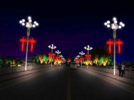 广万达牌LED节日亮化灯具中国结