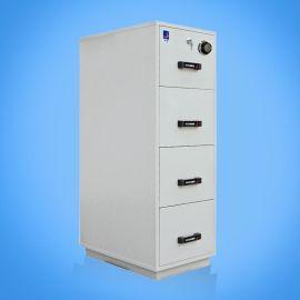 泰格防火防磁文件柜FRD-43配置3个磁带抽屉和一个纸张抽屉