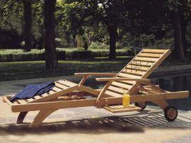 沙滩椅泳池休闲木质沙滩椅户外实木沙滩椅