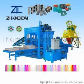 中材建科QTY4-20A液  砖机设备空心砖机
