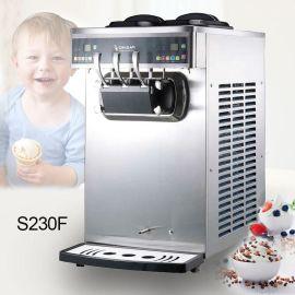 百世贸S230-F带变频双系统商用软冰淇淋机