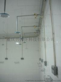 供应南京浴室刷卡机学校澡堂节水器淋浴水控机