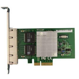WY580-T4 PCIe X4服务器四口千兆网卡intel82580