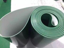 PVC绿色轻型平面流水线工业皮带 输送带 运输带 传动带 食品带