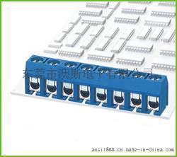 KF306可拼接5.0MM间距FS306印刷板用端子柱