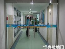 深圳布吉玻璃门 电动门 感应玻璃门