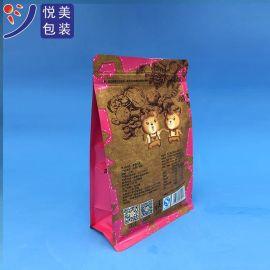 八边封开窗自立自封袋坚果休闲食品包装可印LOGO