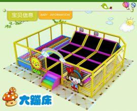 大蹦床幼儿园儿童蹦床户外跳跳床室内蹦极弹跳床配件广场游乐设备