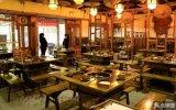 山东潍坊火锅桌专业制造商,重庆实木火锅桌 火锅桌椅