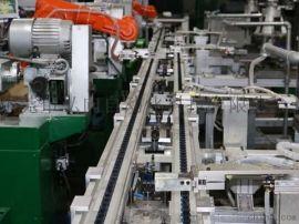 倍速链流水线 上下层组装生城南线 差速链输送机