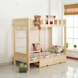 四川幼儿小床实木玩具柜厂家按要求定做
