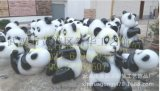 玻璃鋼雕塑 熊貓玻璃鋼雕塑 卡通雕塑 人物雕塑