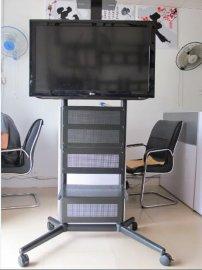 酒店超市会议室液晶电视移动支架/落地挂架/推车电视架