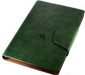 皮革笔记本