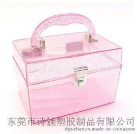 【东莞生产厂家】韩式SH-6422A高透明硬质 塑料首饰收纳盒