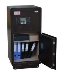 花都双门保险柜 电子密码锁 办公家用保管柜 保险箱HDB-HS100A