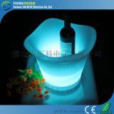LED發光手提冰桶 遙控控制 精美 PE環保材料 佛山瓴科電子廠家直銷